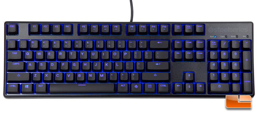0b8e9e83efc SteelSeries Apex M500 Mechanical Gaming Keyboard Review - Legit ...