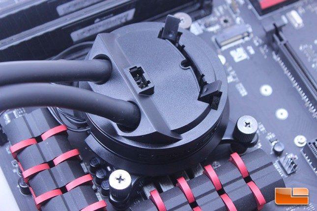 Cryorig A40 on MSI Z97A Gaming 5 - VRM Clearance