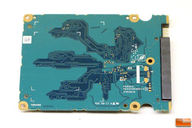 VX500 PCB Back