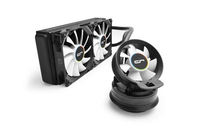 Cryorig A40 Ultimate with airflow fan