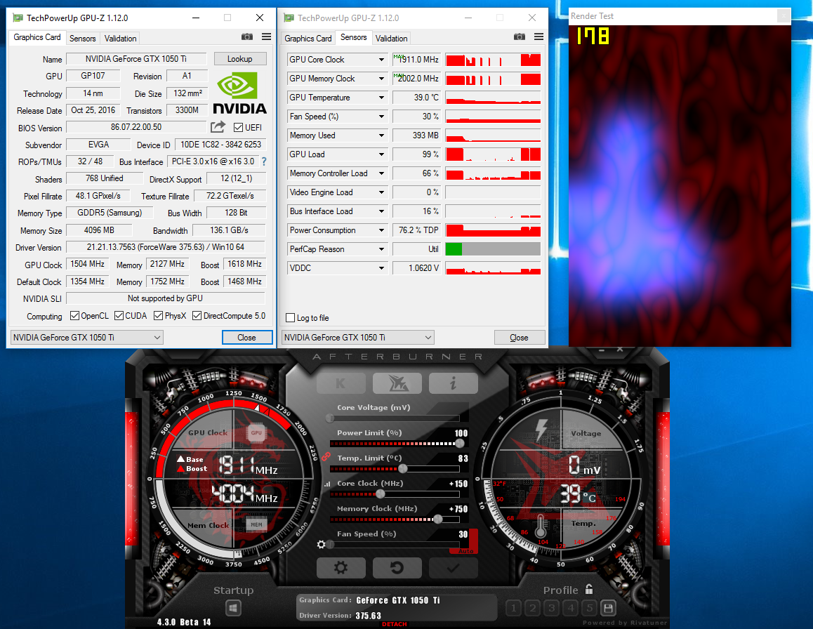 Overclocking: MSI GeForce GTX 1050 Ti 4G OC Pushed To The Max - Page