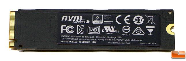Samsung SSD 960 Pro 2TB Drive PCB
