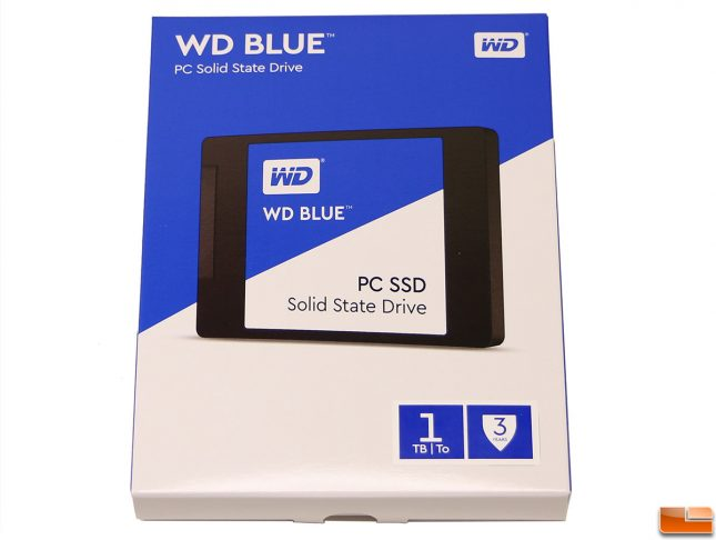 WD Blue SSD Packaging