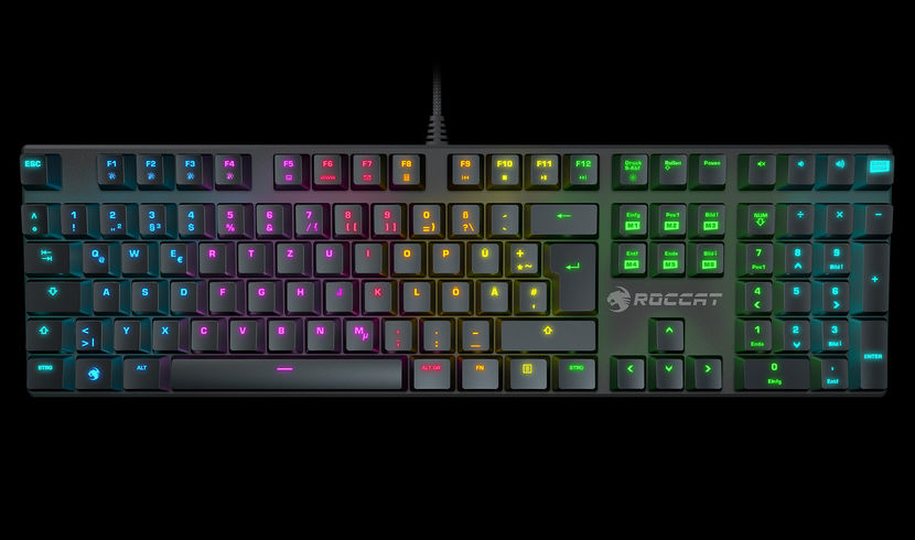 roccat soura fx rgb mechanical keyboard to be released on december 6th legit reviews. Black Bedroom Furniture Sets. Home Design Ideas