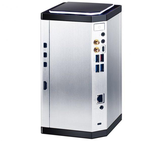 Gigabyte Brix Pro UHD Connectors