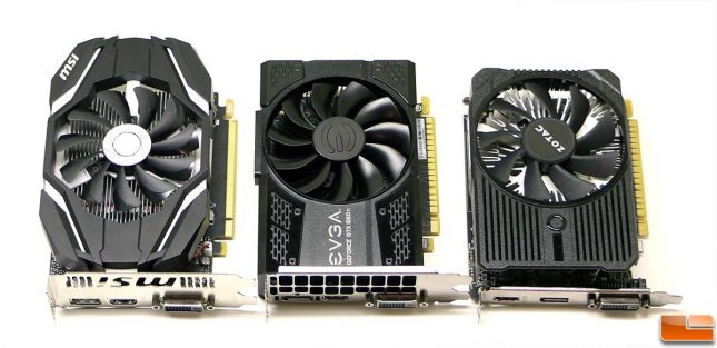 NVIDIA GeForce GTX 1050 Ti Cards