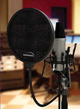 Auphonix 6-Inch Microphone Pop Filter