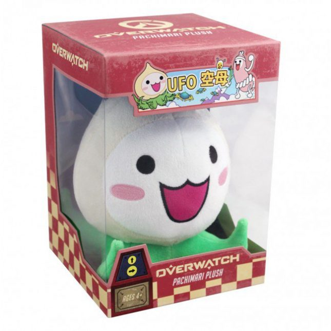 Overwatch Pachimari Plush