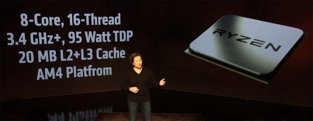 AMD Ryzen 95W TDP