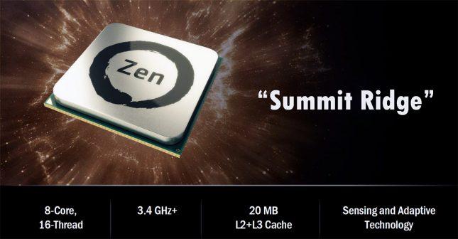 AMD Summit Ridge