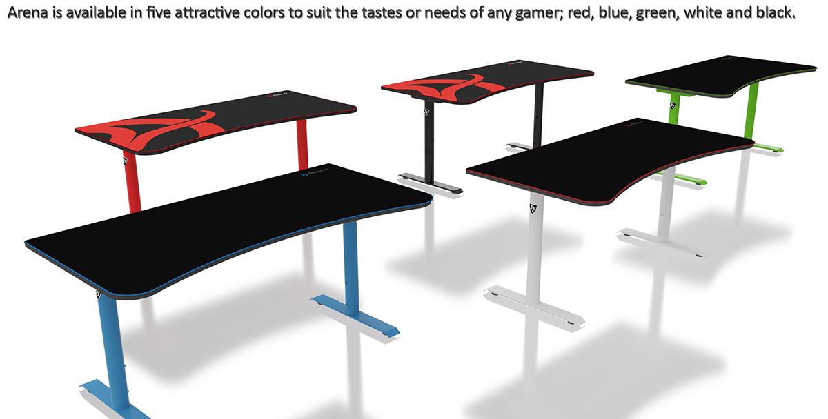 Arozzi Arena Gaming Desk Review - Legit Reviews