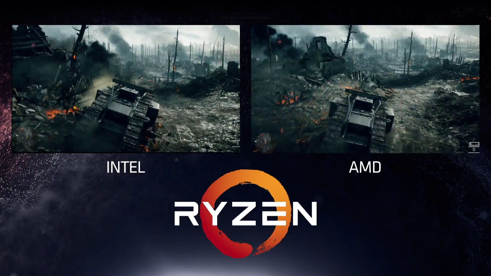 Amd Shows Intel Can T Keep Up With Ryzen On Games Legit Reviews