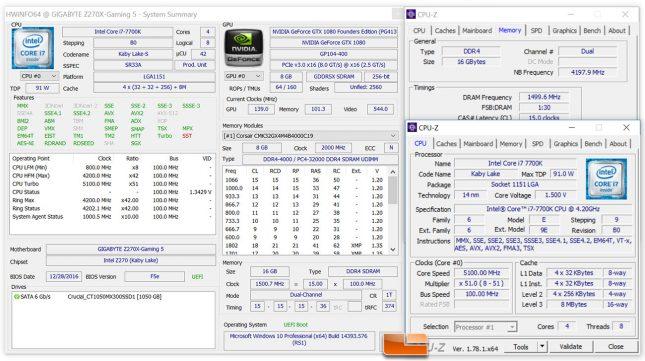 Core i7-7700K Overclock