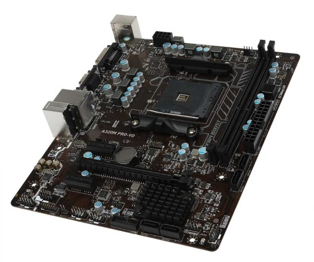 MSI A320 PRO-VD Motherboard