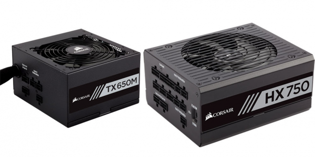 Corsair New Power Supplies