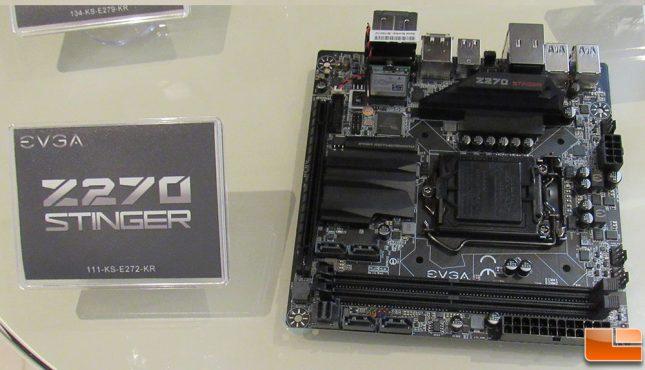 EVGA Z270 Stinger