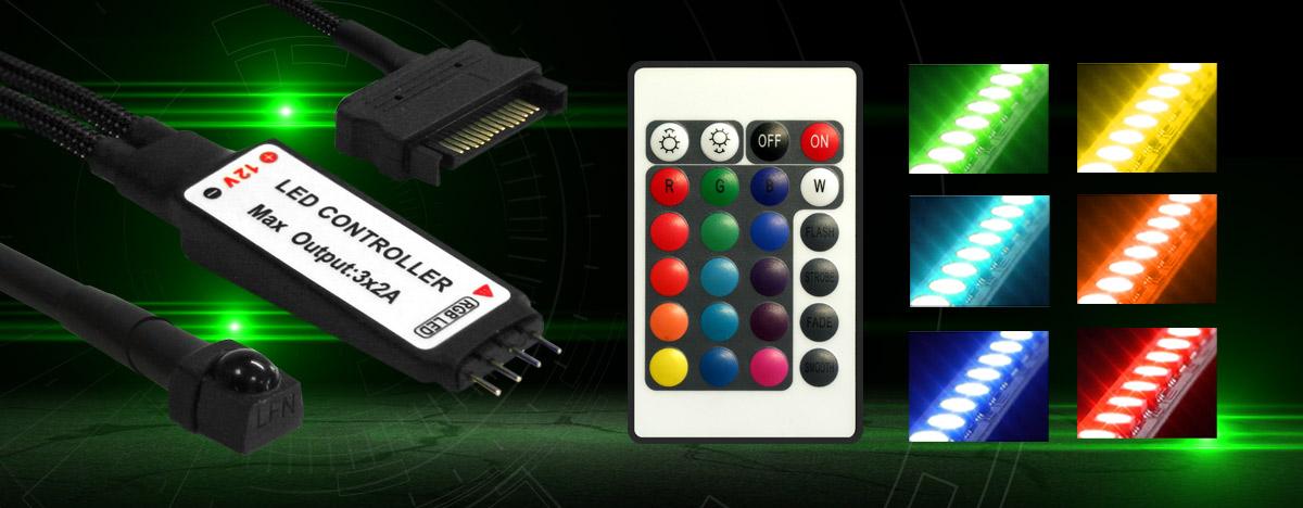 Nanoxia RGB Rigid LED - ASUS AURA SYNC Certified - Legit Reviews