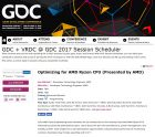 Ryzen GDC Launch Date