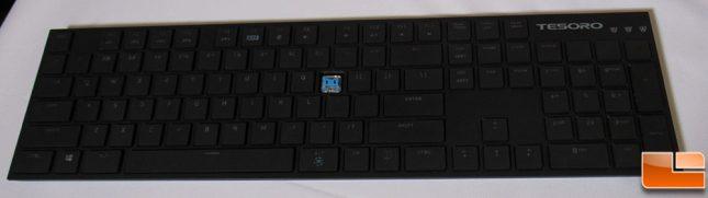 Tesoro Ultra-Thin Mechanical Gaming Keyboard Prototype