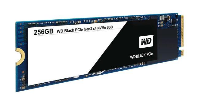WD Black PCIe SSD 256GB