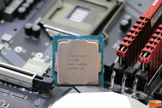 Intel Kaby Lake with Gigabyte Z270