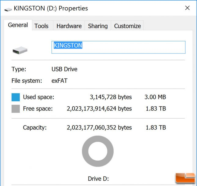 Kingston DataTraveler 2TB