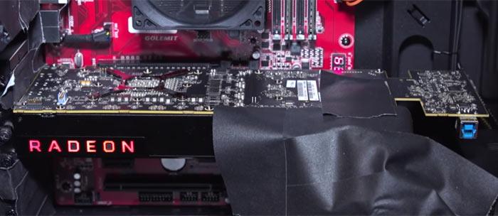 AMD Vega 10 Graphics Card Finally Shown