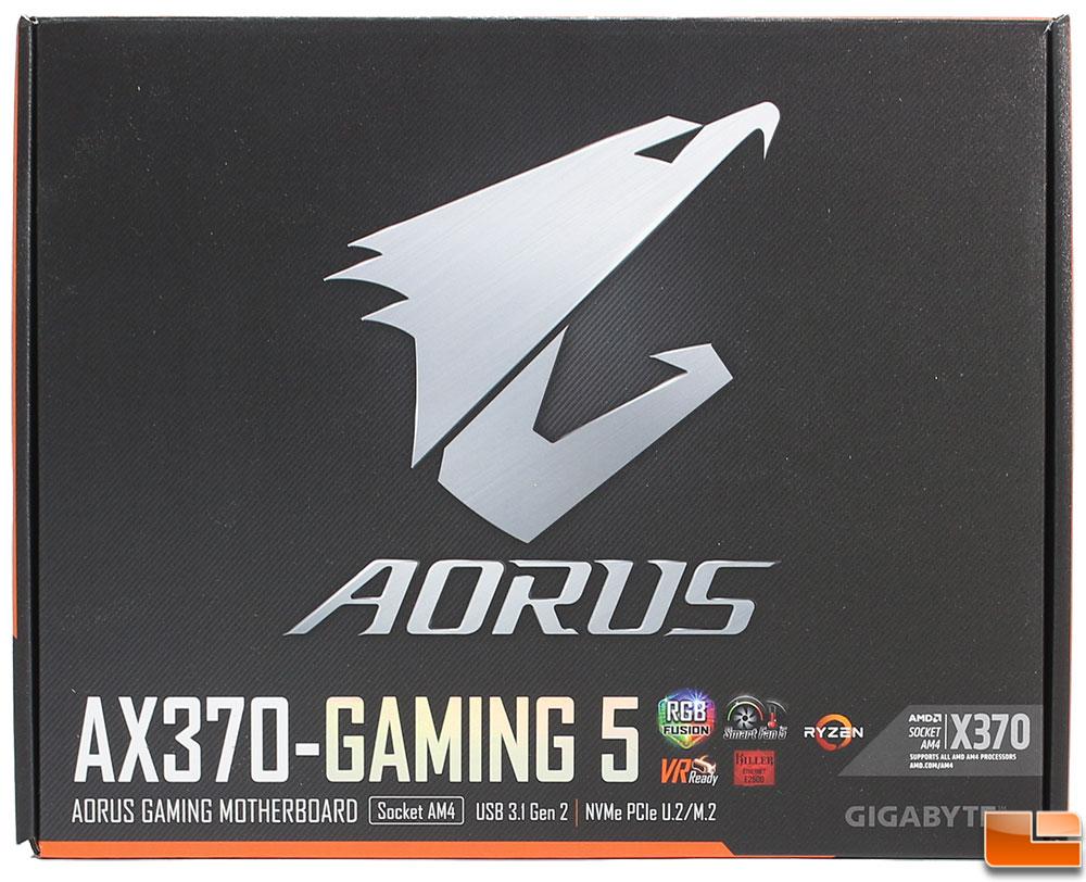 Gigabyte Aorus Ax370 Gaming 5 Motherboard Review Legit Ga