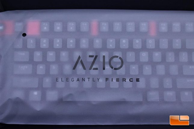Azio Armato Keyboard Packaging