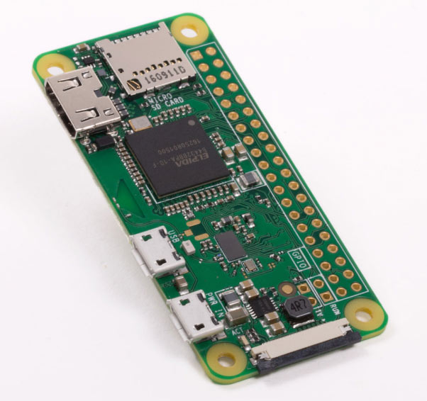 Raspberry Pi Zero W Costs $10 and has Bluetooth and WiFi