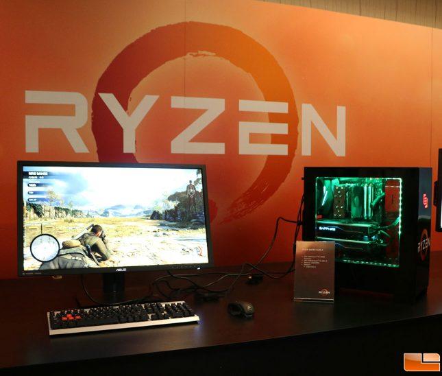 AMD Ryzen Gaming System