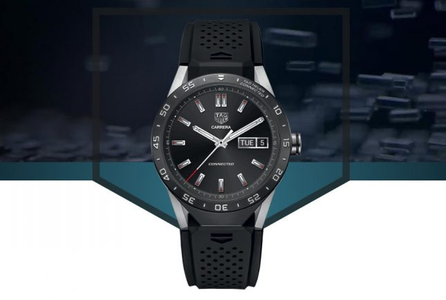 TAG Heuer Connected Smartwatch Followup Tipped for Interchangeable Faces