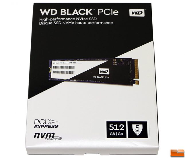 WD Black SSD Retail Box