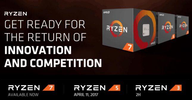 AMD Ryzen 5 Processor Release Date
