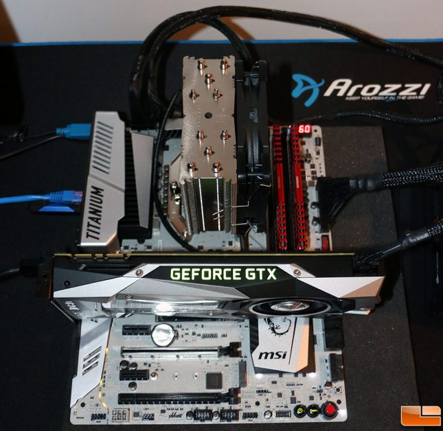 AMD Ryzen Test System