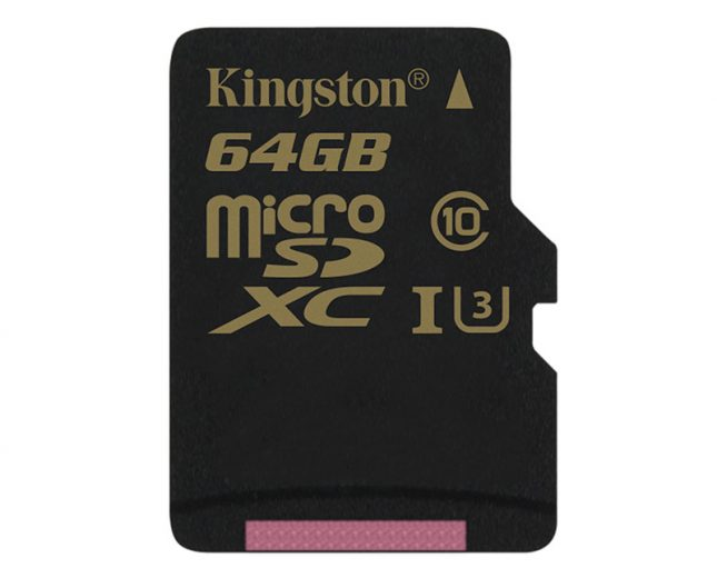 Kingston  Class 3 MicroSD Memory Card