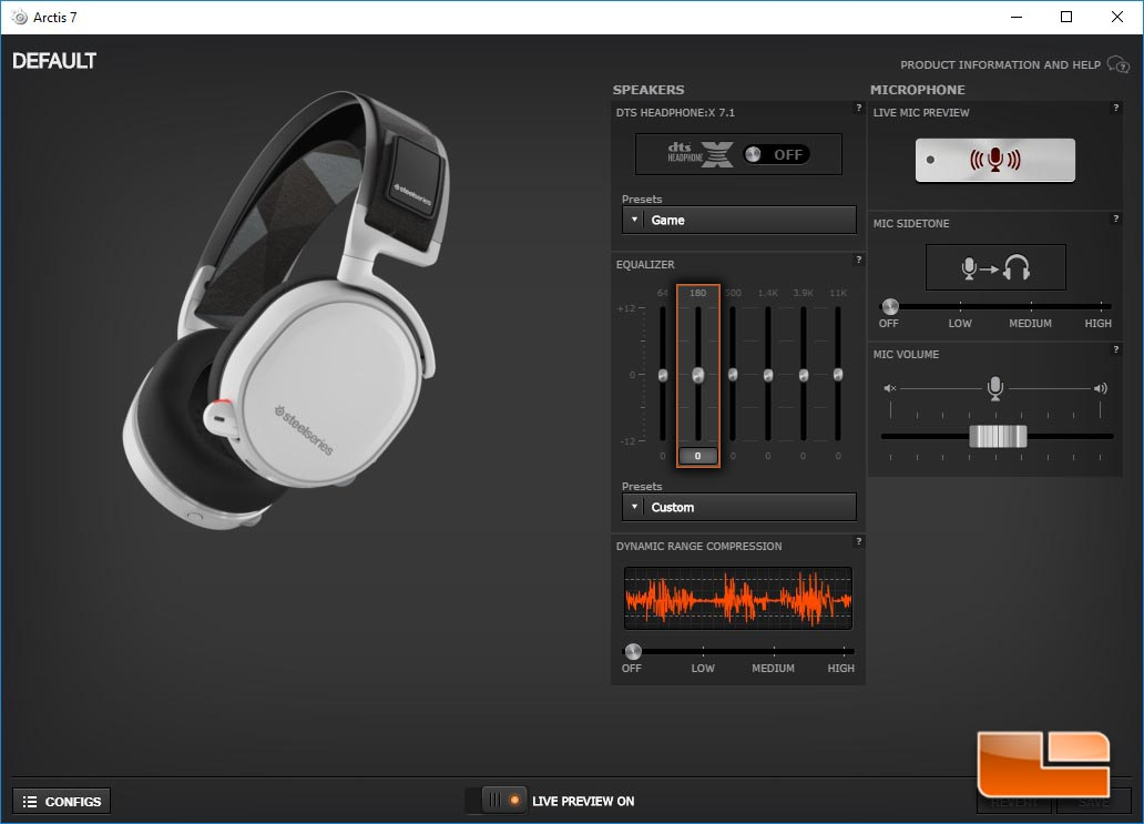 Steelseries Arctis 7 Wireless Gaming Headset Review Page