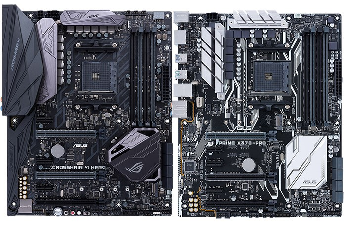 Asus Launches New Amd Am4 Series Motherboards Legit Reviews