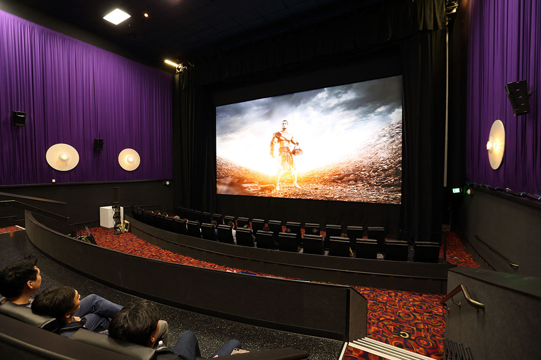Samsung S Cinema Screen Wants To Replace The Movie Theater