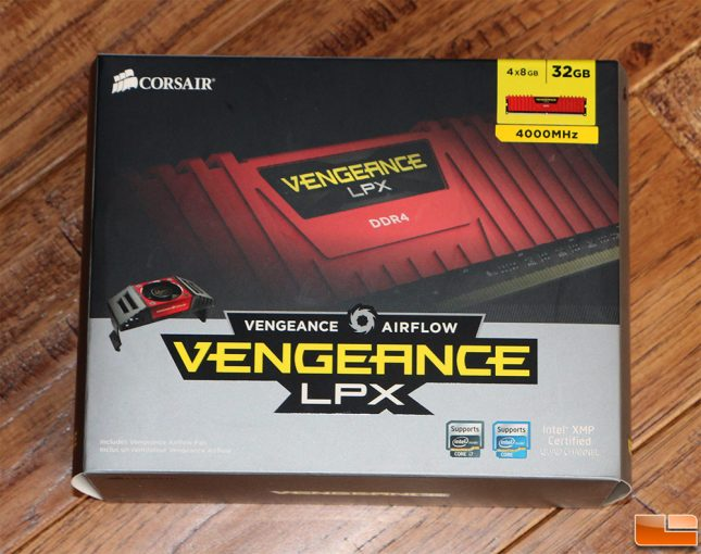 Corsair Vengeance LPX DDR4 4000MHz 32GB Kit