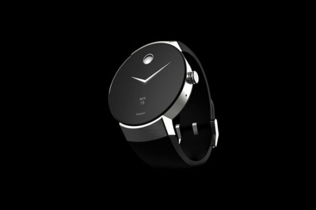 Movado Connect Smartwatch has an Always on Screen