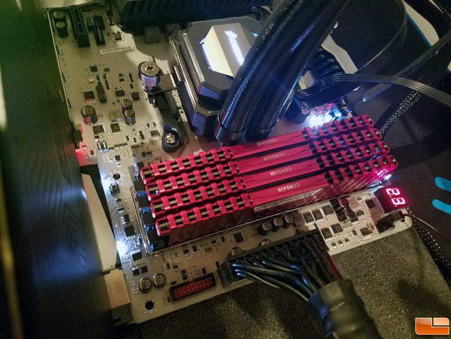 MSI X370 Gaming Titanium All Slots Full
