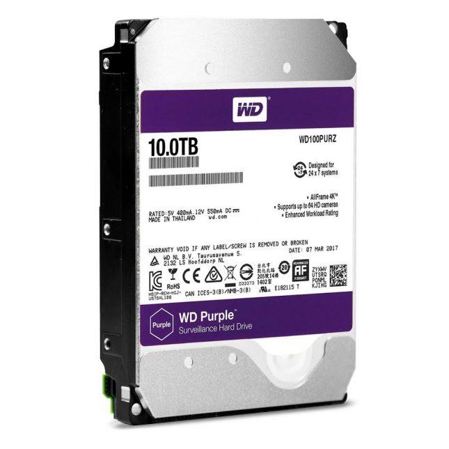 WD Purple 10TB HDD