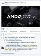 AMD Poland Facebook Vega GPU Comment