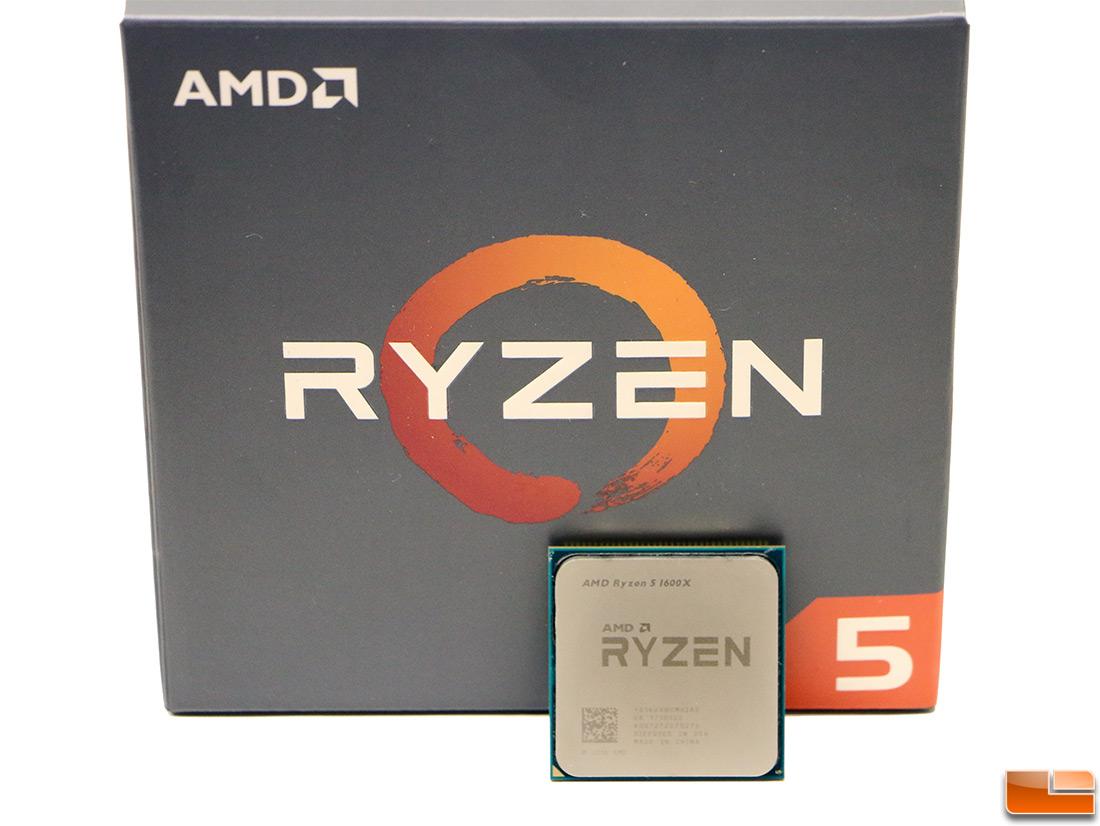 AMD Ryzen 5 1600X Overclocked Benchmark Results At 4 1GHz - Legit