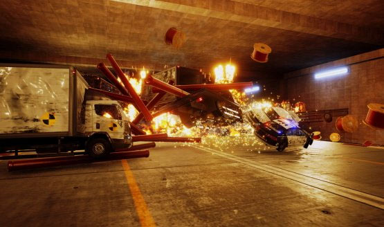Danger Zone for PC and PS4 is All About Car Crashes