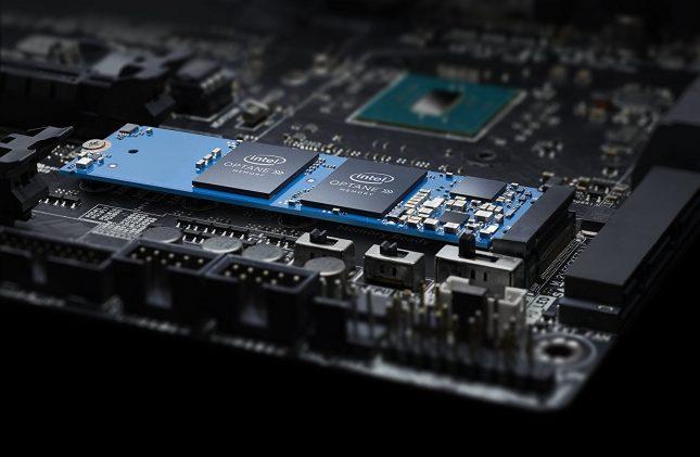 Intel Optane Memory Module installed in m.2 slot