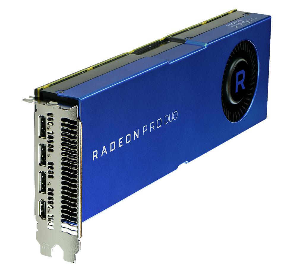AMD Radeon Pro Duo 32GB Professional Graphics Card Announced At $999  Legit  # Wasbak Pro Duo_113022