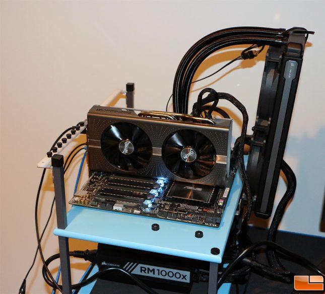Radeon RX 580 Test System