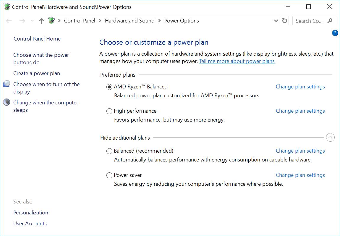 AMD Ryzen Balanced Power Plan Benchmarked - Legit ReviewsAMD Ryzen